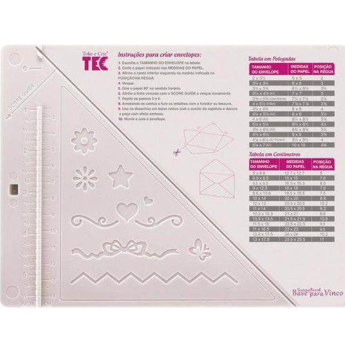 Base para Vinco Scoring Board 18x14 Di115 - Toke e Crie