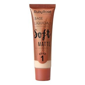 Base Soft Matte Ruby Rose Tons Nude Nude 1
