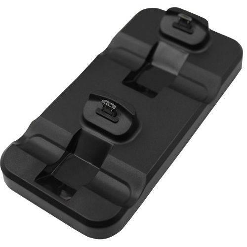 Base Suporte Carregador Duplo para 2 Controles Ps4 + Cabo USB