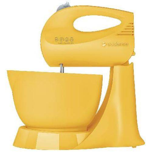 Batedeira Jolie Colors Bat414 Amarela 200w Tigela 3,5 Litros 220v