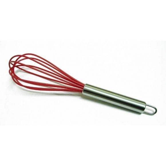 Batedor Silicone Vermelho 30,5 Cm Bono