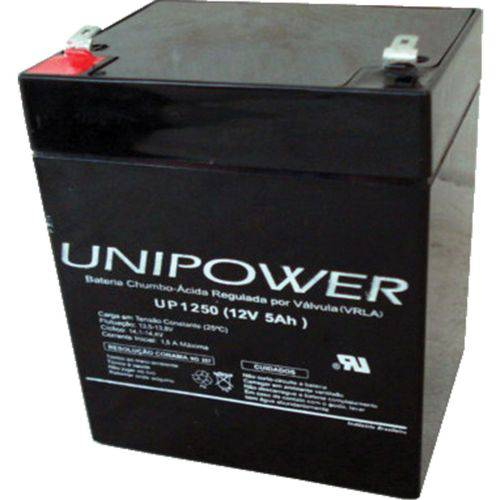 Bateria 12v 5,0ah Selada F187 Up1250 Ot Unipower
