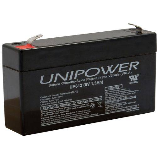 Bateria 12v 9a Selada Up1290 Unipower