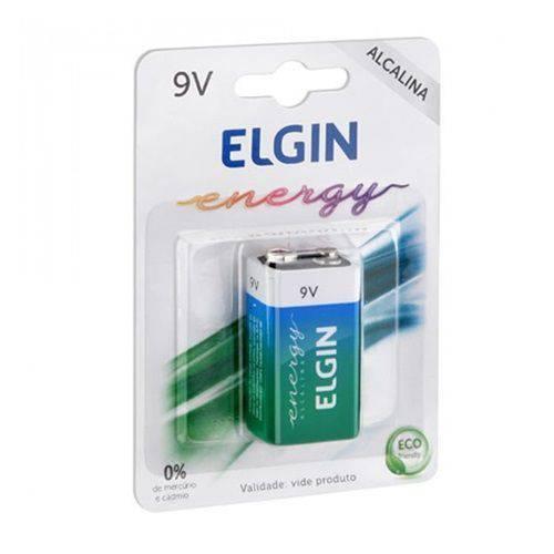 Bateria 9 V Alcalina - Elgin