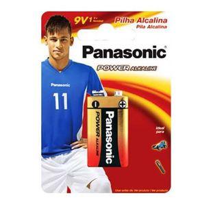 Bateria Alcalina 9V 1 Unidade 6LF22XAB/1B24 Panasonic