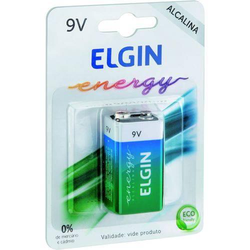 Bateria Alcalina 9v Blister 1pc - Elgin