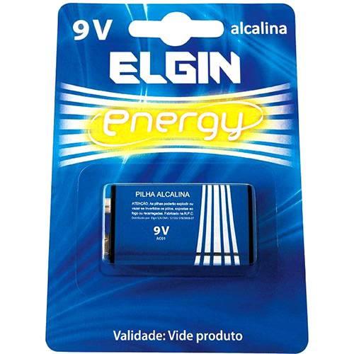 Bateria Alcalina 9V Blister C/1 Bateria - Elgin