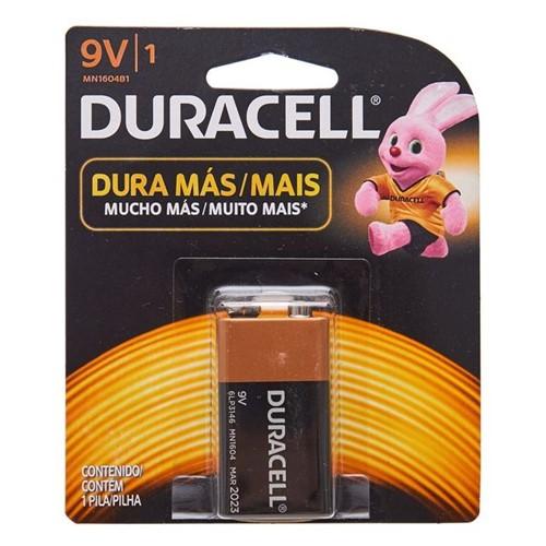 Bateria Alcalina 9V Duracell 5101