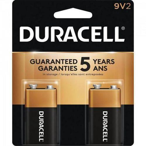 Bateria Alcalina 9v Duracell Caixa C/24 Baterias (cartela C/2)