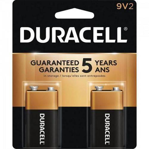 Bateria Alcalina 9v Duracell Caixa C/24 Baterias (cartela C/