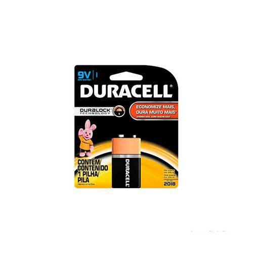 Bateria Alcalina 9v Duracell