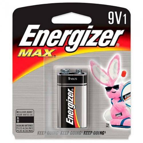 Bateria Alcalina 9v Energizer Max