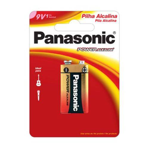 Bateria Alcalina 9v Panasonic