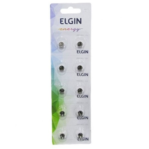 Bateria Alcalina LR621 1,5v 82307 Elgin