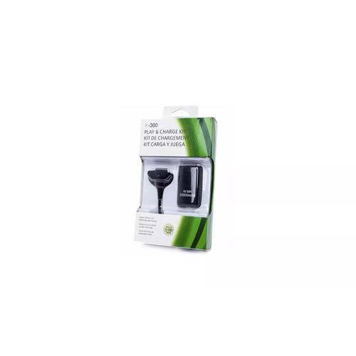 Bateria Cabo Carregador de Controle Joystick Xbox 360