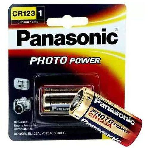 Bateria Cr123 Photo Power - Panasonic
