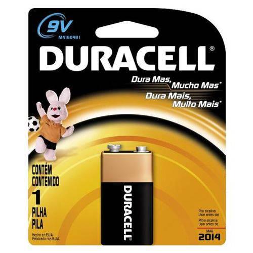 Bateria Duracell 9 Volts C/1