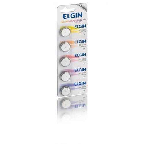 Bateria Elgin Lithium 3V CR 2032