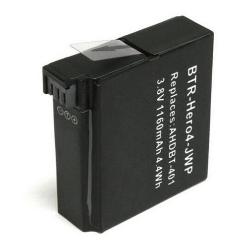 Bateria Hero4 - 3.8v - 1160mah - 4.4wh - Li-ion
