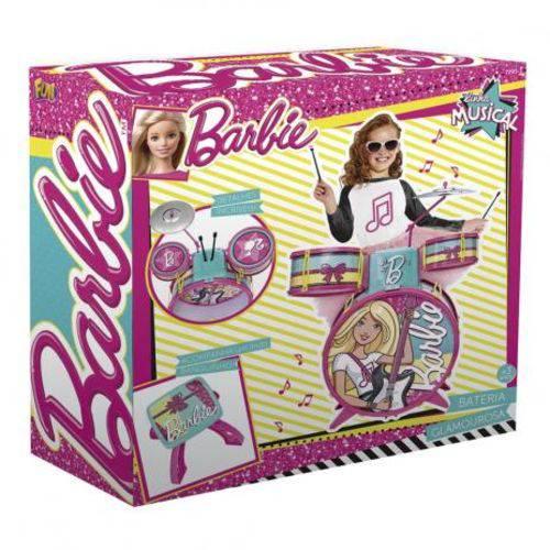 Bateria Infantil Barbie 72931 - Fun