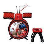 Bateria Infantil - Miraculous - Ladybug - Fun