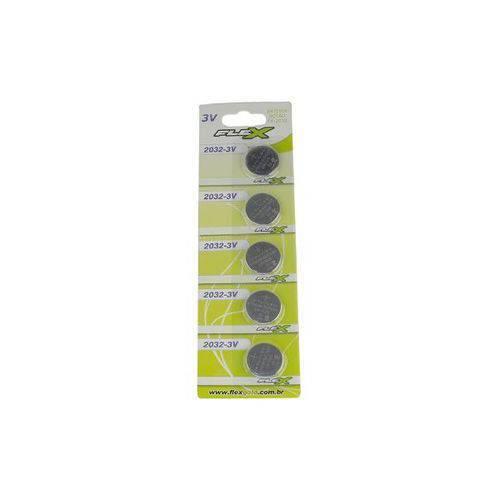 Bateria Moeda Cr 2025 Cr-2025 3v Lithium Cartela C/ 5pcs