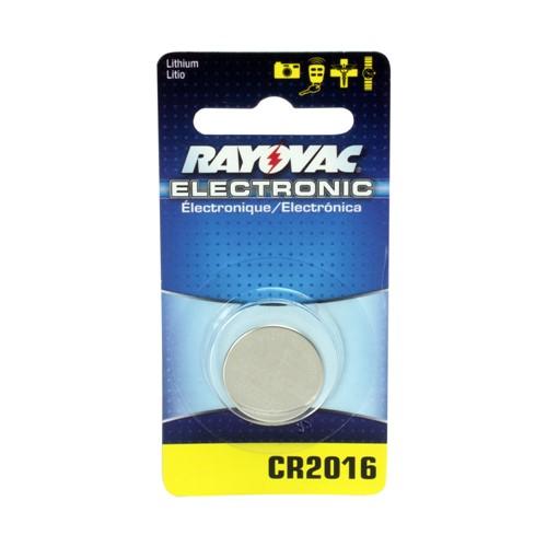 Bateria Rayovac Electrônica CR2016 Litio com 1 Unidade