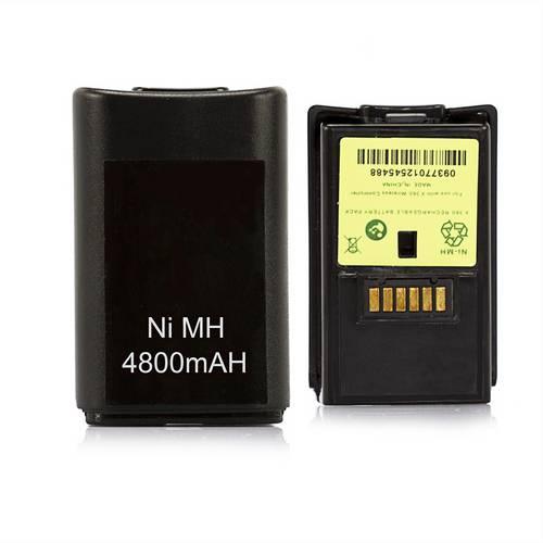 Bateria Recarregável 4800mah Controle Xbox 360