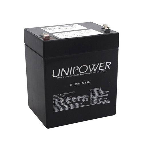 Bateria Selada Unipower 12v 5ah Up1250 F187
