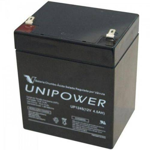 Bateria Selada UP1245 12V/4,5A UNIPOWER