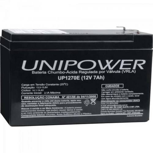 Bateria Selada Up1270 12v/7a Unipower (7890000626361)