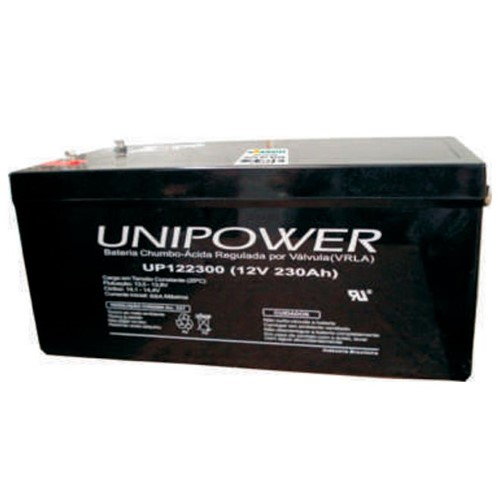 Bateria Selada VRLA 12V 230AH M8 UP122300 RT 06C071 - Unipower