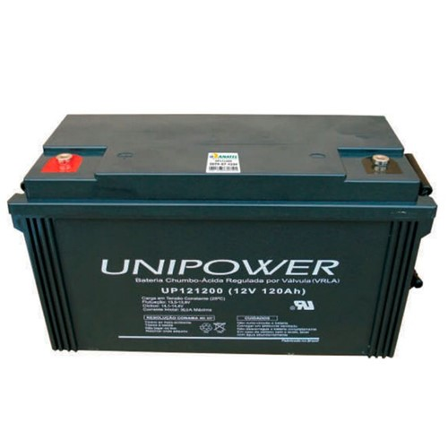 Bateria Selada VRLA 12V 120AH M8 UP121200 RT 06C065 - Unipower