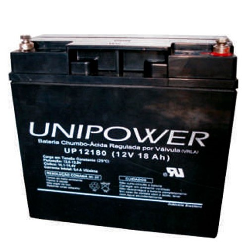 Bateria Selada VRLA 12V, 18Ah M5 UP12180 - Unipower