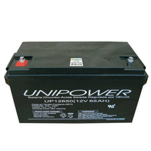Bateria Selada Vrla 12v 65,0ah M6 Up12650 Rt 06c049 - Unipower