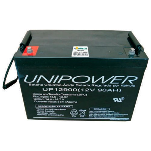 Bateria Selada VRLA 12V 90,0AH M6 UP12900 RT 04K010 - Unipower