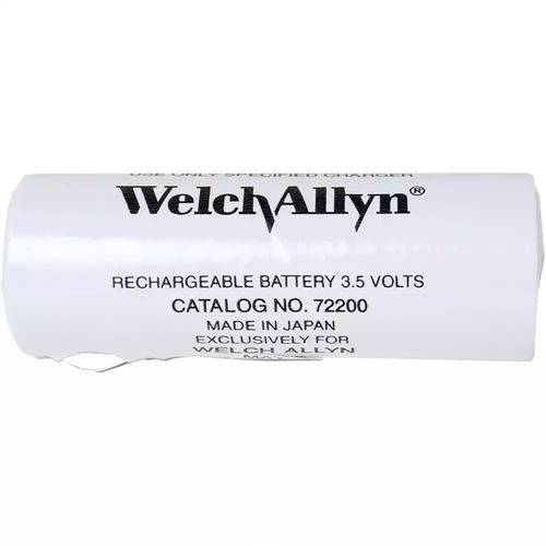Bateria Welch Allyn 72200 para Cabo Recarregável