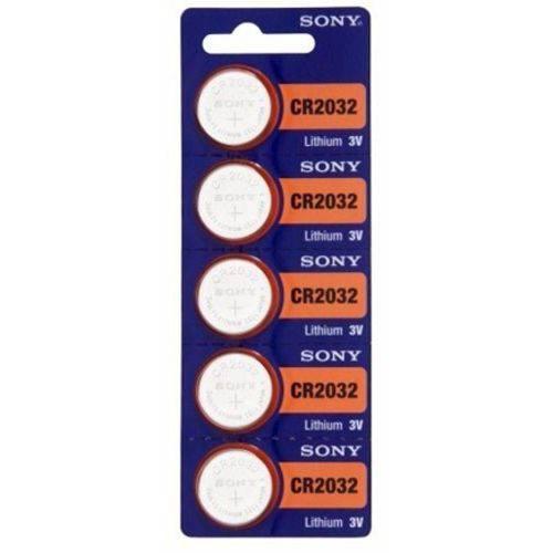 Baterias Sony Cr2032 para Hp12c Gold e Platinum 3v Cartela com 5 Unidade