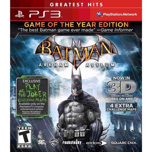 Batman Arkham Asylum 3d Ps3
