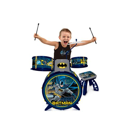 Batman Bateria Musical - Fun Divirta-se