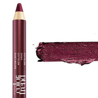 Batom Lápis Color Trend 1,2g - Vinho Metálico