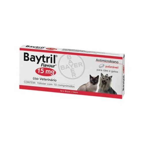 Baytril Flavour - 15 Mg - Bayer