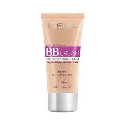 BB Cream Base L'oreal Clara FPS 20 - 30ml