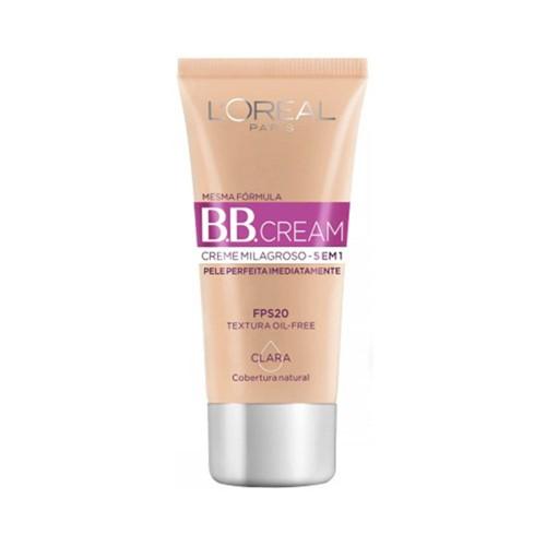 BB Cream L'Oréal Paris Dermo Expertise Base Clara FPS 20 - 30ml