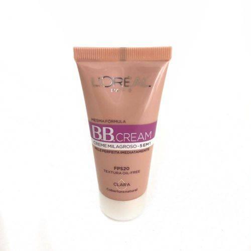 Bb Cream Proteção Solar Fps 20 Clara Loreal