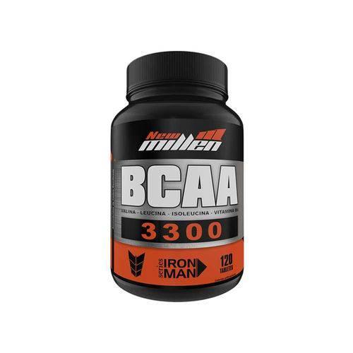 Bcaa 3300 120 Tabletes - New Millen