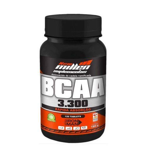 Bcaa 3.300 com Vitamina B6 120 Tabletes New Millen