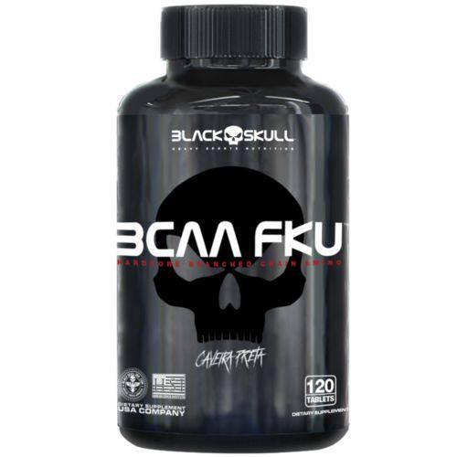 Bcaa 1.000mg Fku 240 Tabletes - Black Skull