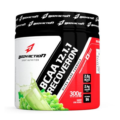 BCAA 12:1:1 Recoveron 300g Body Action BCAA 12:1:1 Recoveron 300g Uva Verde Body Action