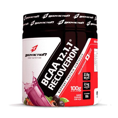 Bcaa 12:1:1 Recoveron - 300g - Body Action - Sabor Guarana C/ Acai